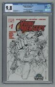 Young Avengers 1 Wizard World Convention Sketch Variant 1st Kate Bishop Cgc 9.8