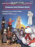 Aunt Lydiaand039s Collector Doll Pattern Book Pilgrim Santa Bride Angel Indian Witch