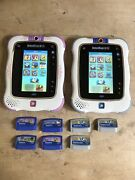 Lot Of 2 Vtech Innotab 2s With 7 Games - Read Details Pls
