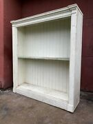 Antique 1880s Country Store Display Cabinet Farmhouse Kitchen Entryway Rustic