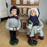 Byers Choice Ltd. The Carolers Girl And Boy With Cookies
