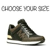 Nib- Mk Maddy Logo Trainer Athletic Shoes Choose Your Size