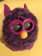 2012 Hasbro Furby Boom Voodoo Purple Pink And Blue – Interactive Toy Tested Works