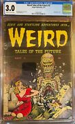 Weird Tales Of The Future 3 - Classic Cover Cgc 3.0