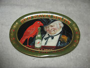 Antique C1900 Red Raven Splits Mineral Water Bottle Tip Tray Ask The Man