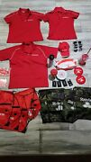State Farm Collectibles Lot Shirts Cups Bags Luggage Tags Sunglasses Parking