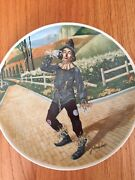 Edwin Knowles China Complete Set Of 8 Wizard Of Oz Plates With Certificates
