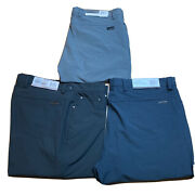 Greg Norman Menand039s Ultimate 5-pocket Clubhouse Golf Pants Ml75 Variety Sizes