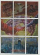Smallville Tv Show Season 3 Trading Card Puzzle Generations 9 Cards