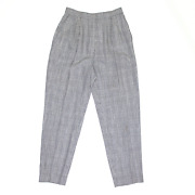 Vintage Amuse Grey Classic Straight Trousers Womens W26 L27