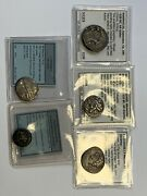 Ancient Coin Lot Of 5 Coins Providence In Last Picture.
