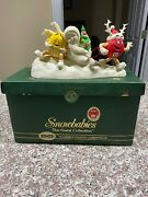 2004 Department 56 Snowbabies Mandm's A Candy Coated Christmas 69802