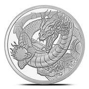 The Chinese Round- World Of Dragons Series - 3rd Release Of 6 Round Series.