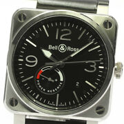 Bell&ross Aviation Br03-97 Date Power Reserve Black Dial Automatic Menand039s_6...