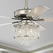 Warehouse Of 5-blade Ceiling Fan With Metal Drum Shade Cfl-8441remo/as