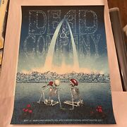 Dead And Company St Louis Poster Hollywood Casino Maryland Heights 9/1 2021 /ed