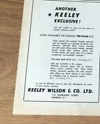Stgun78 Advert5x4 Keeley Wilson And Co. Ltd, The Famous Tri-pack Cleaning Kits