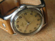 Vintage Omega Military Wrist Watch Cal.17.8 Sweep Seconds S/scase Ww2 Ca1944