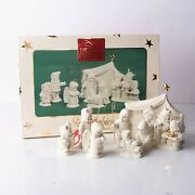 Department 56 Snowbabies The Christmas Pageant Nativity Holiday Display New