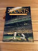 August 16, 1954 Sports Illustrated First Issue No Label With Baseball Cards Ex