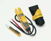 Fluke T5-h5-1ac Kit/us Voltage Continuity And Current Tester Kit With Holster