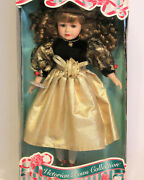 1997 Victorian Bows Collection Genuine Porcelain Doll By Melissa Jane 61198 New