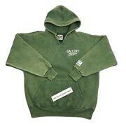 Gallery Dept. Washed Green Hoodie Size M