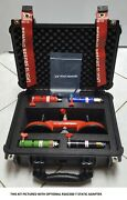 New Improved Airborne Electronics Pitot Static Adapter Test Kit Flexible Tubing