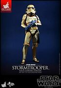 Star Wars 1/6 Scale Figure Stormtrooper Gold Chrome Version