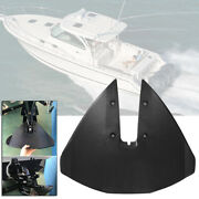 Sport 300-fin Hydrofoil Stabilizer Lower Unit For Outboard And Sterndrive Black