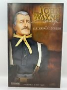 Sideshow John Wayne As A U.s. Cavalry Officer 12 Sealed Capt Nathan Brittles