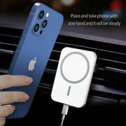 Magnetic Car Mount Wireless Charger For Mag Safe For Iphone 12 Mini 12 Pro Max