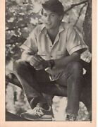 Rob Lowe Pinup Funny Matt Dillon Picture Pose Clipping Cutting Pix