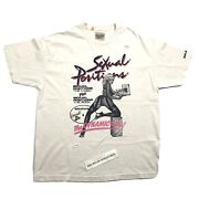 Gallery Dept. Doc Johnson Sexual Positions White T-shirt Size L