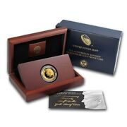 2014-w Proof Gold Kennedy 50c ✪ Us Mint Box And Coa ✪ 999 3/4 .75 Oz Ogp ◢trusted◣