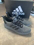 New Adidas Menandrsquos Cloudfoam Lite Racer Byd Running Shoes Grey Black Pick Size