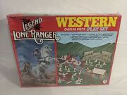 Hg Toys The Legends Of The Lone Ranger Western Playset Sealed