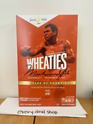 Wheaties Century Collection Gold Box 1 Muhammad Ali Limited In Hand Fast Ship