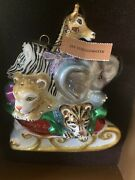 Jay Strongwater Babyand039s First Christmas Ornament Crystals New W/tags