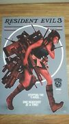 Resident Evil 3 Dand039alfonso Norman Rockwell Rare Print 13x19 Video Game Poster