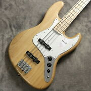 Fender Made In Japan Heritage 70s Jazz Bass Maple Fingerboard Naturalnew