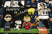 Peanuts Snoopy Happy Halloween Lot Of Kitchen Towels 1 Dish Drying Mat And Rug