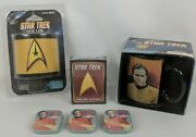 Star Trek Tos Mug, Night Light, Dilithium Crystals, Playing Cards, New Lot Gifts