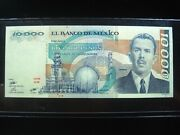 Mexico 10000 Pesos 1983 P84b Mexican 10000 Nice 7398 Currency Banknote Money
