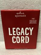 Hallmark Keepsake Legacy Cord Powers Vintage Magic Ornaments From 2009 And Before