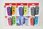Nintendo Switch Joy-con L/r Wireless Controllers - New Authentic
