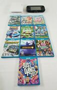 Wii U Video Game Console Wup-00102+game Pad/sensor Bar+10 Games-kirby Rainbow+