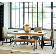 Picket House Furnishings Tyler 6pc Standard Height Dining Set Mdcz1006pc