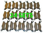 24 Sets 2013 Can-am Outlander Max 1000 Limited Front And Rear Brakes Brake Pads