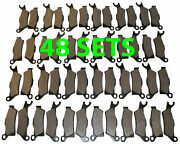 48 Sets 2013 Can-am Renegade 500 Front And Rear Brakes Brake Pads
